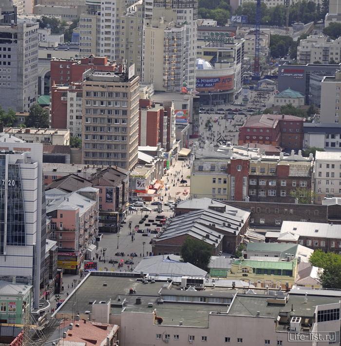 Улица вайнера в екатеринбурге с высоты