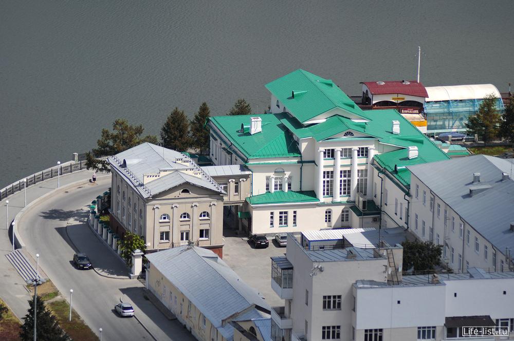 Областная больница 2 в Екатеринбурге с высоты
