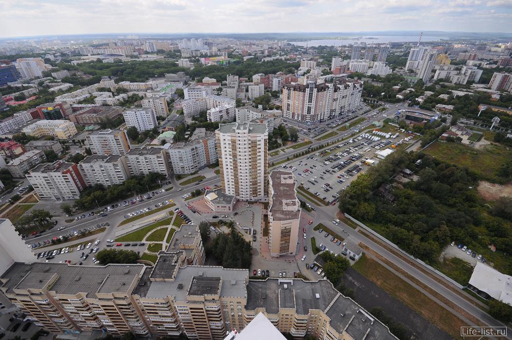 Екатеринбург вид на виз