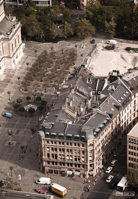 Высотный Франкфурт жилой дом opernplatz