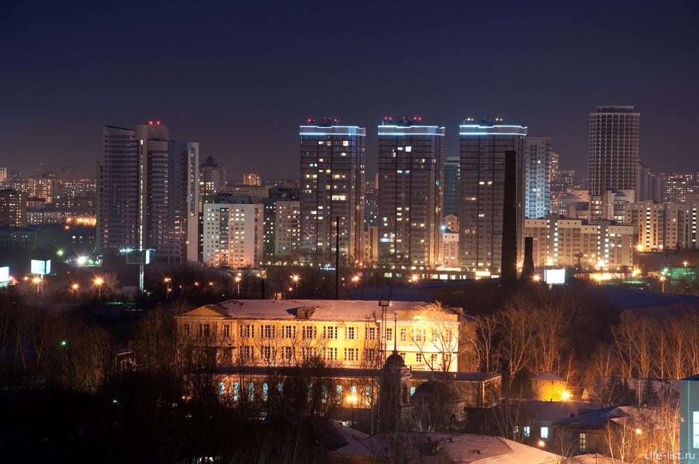 Ночной Екатеринбург ВИЗ