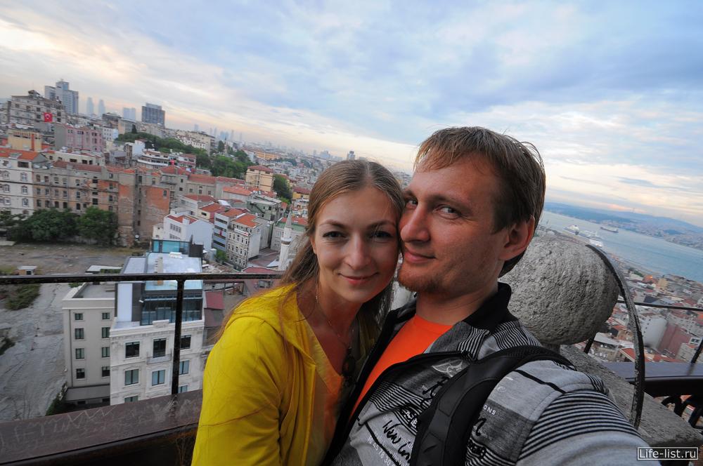 Виталий Караван и Лазукина Женя в Стамбуле