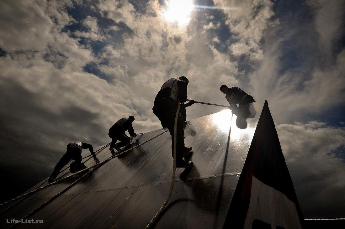 полоса препятствий гонка героев фото Виталий Караван