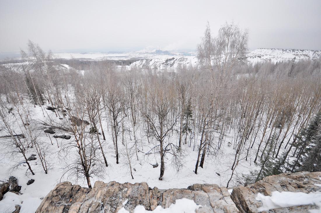 гора Караульная первоуральск Урал