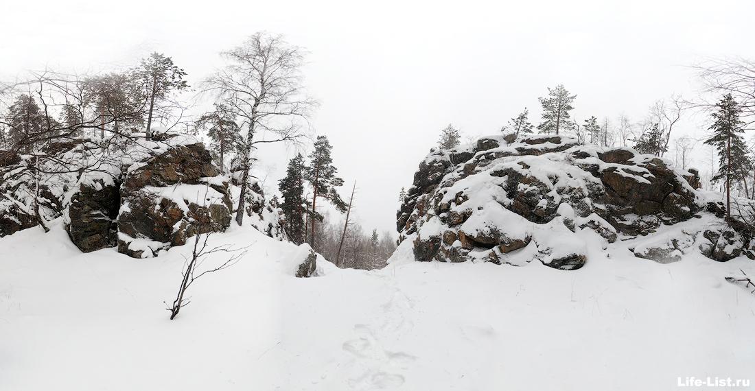 на горе Балабан окрестности Дегтярска