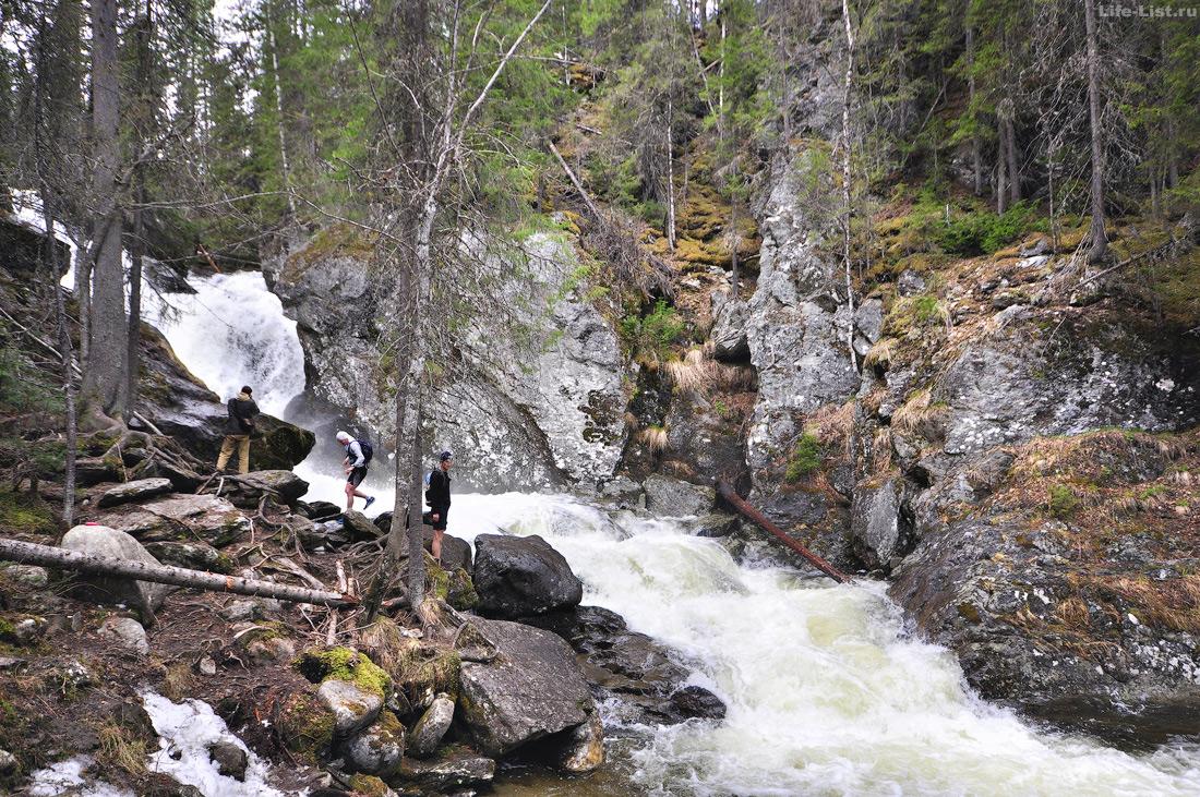 фотография Жигалановские водопады первый водопад