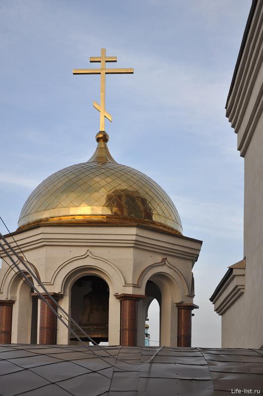 Купол церкви в Екатеринбурге