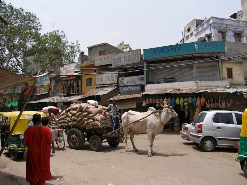 На рынке в Дели