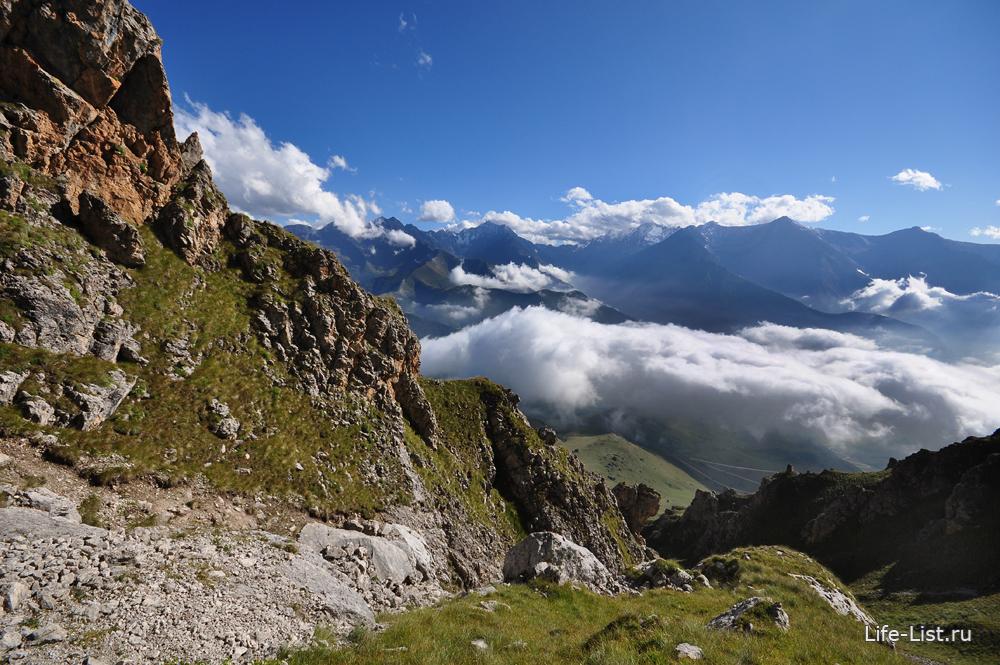 красивое путешествия по горам Ингушетии