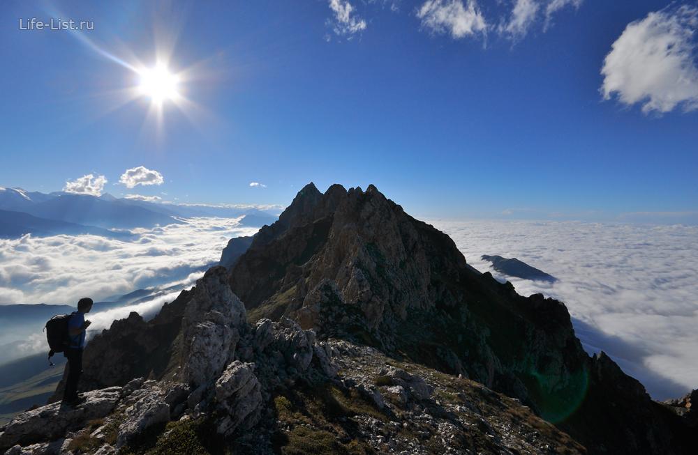 хребет цей лоам ингушетия горы