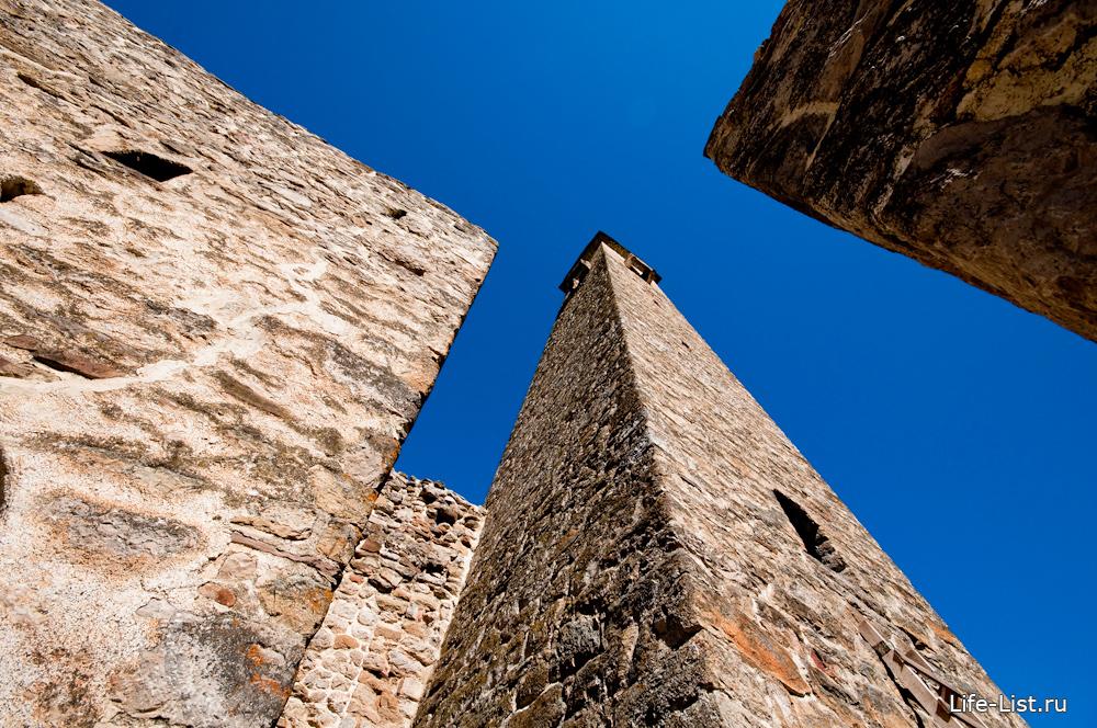 жилые и боевые башни ингушетии джейрахский район