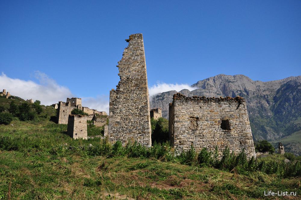 ингушские башни в Джейрахском районе ингушетия путешествия Виталий Караван и Ратмир Нагимьянов