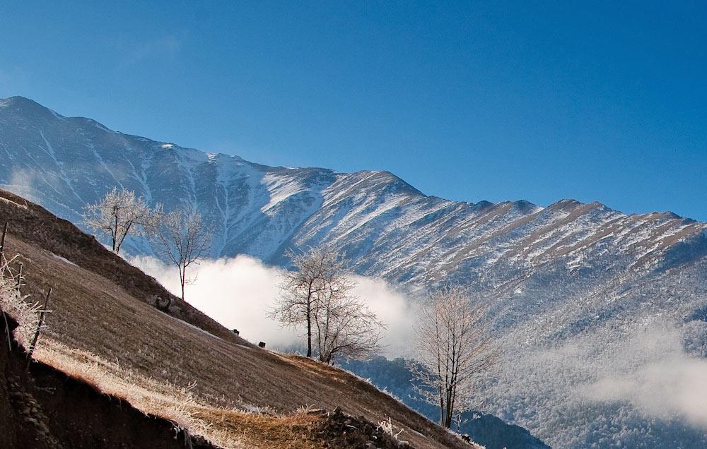 Ингушетия Кавказ горы фотографии путешествия