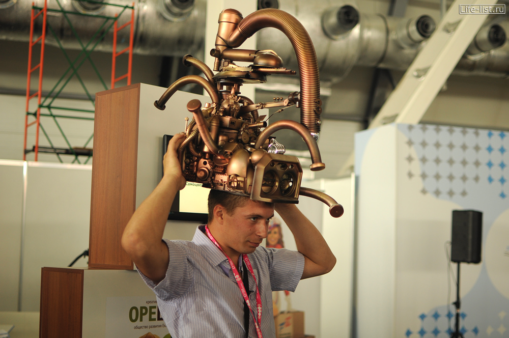 интересные фото с выставки иннопром-2012 Урал