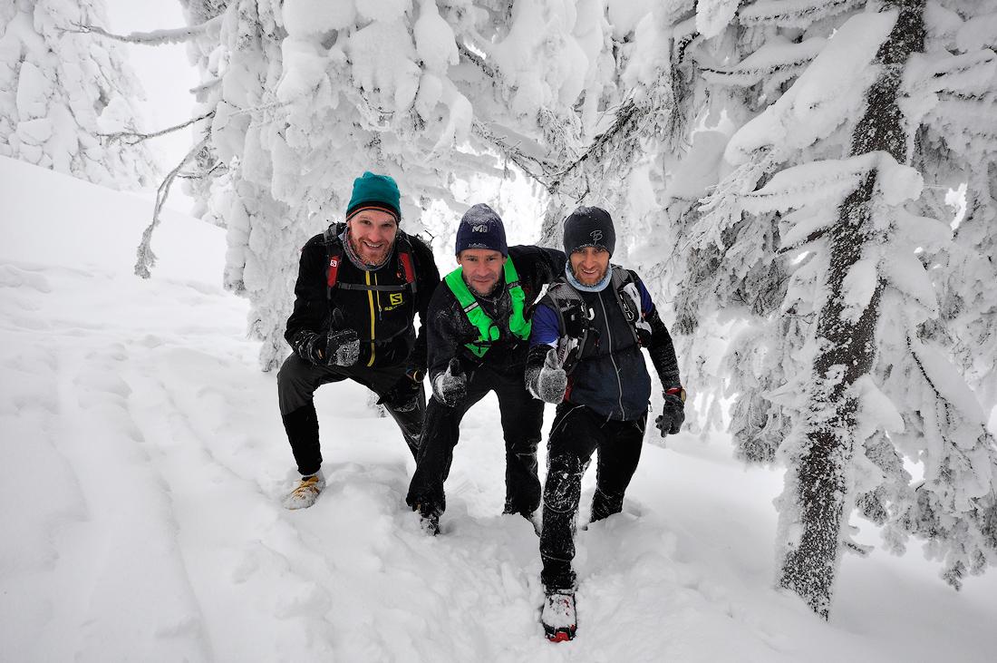 зимний забег по Таганаю