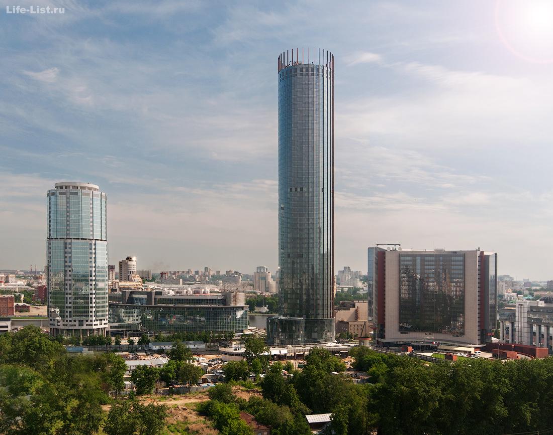 июнь 2014 этапы строительства башни Исеть в Екатеринбурге фото Виталий Караван