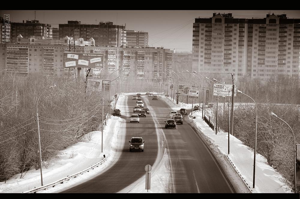 Автомобильный мост у Калины