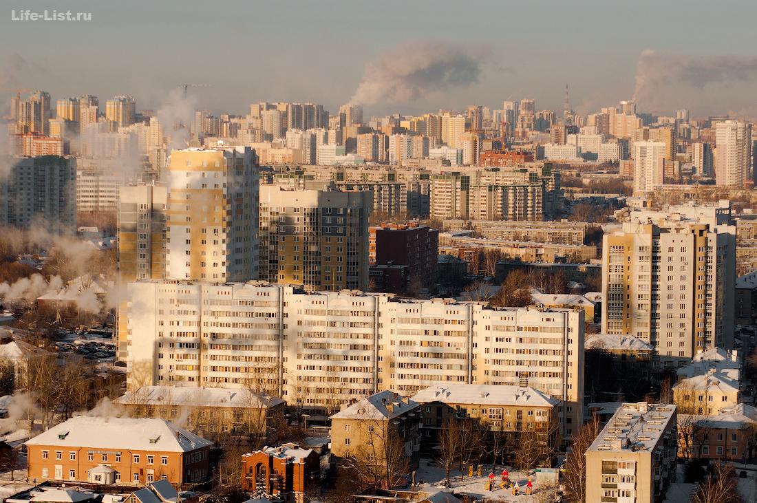 микрорайон Уктус фото с высоты Екатеринбург