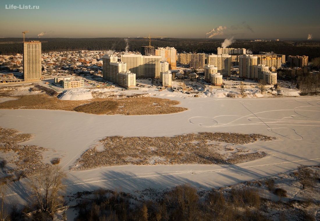уктус Левобережный Екатеринбург Тихий берег фото Виталий Караван