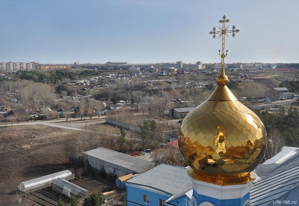Купол Церкови покрова божьей матери