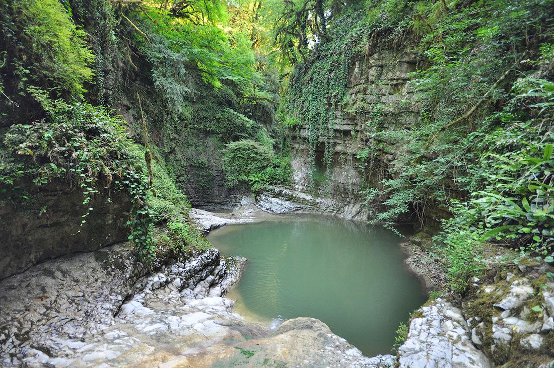 Зеленый каньон Анухвинское ущелье