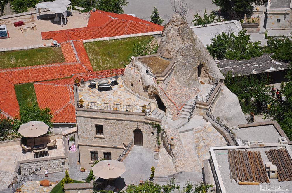 Строения в Гереме Каппадокия Турция
