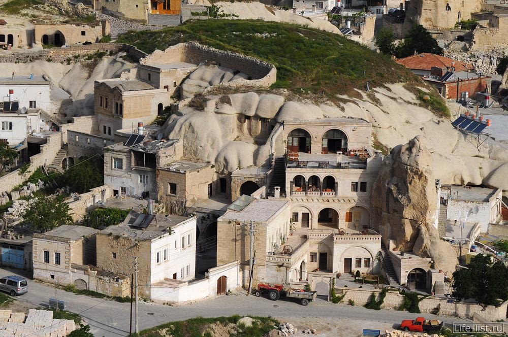 Дома в скалах Каппадокия Турция