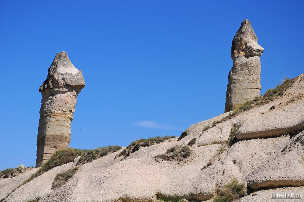 Скалы Каппадокия Турция
