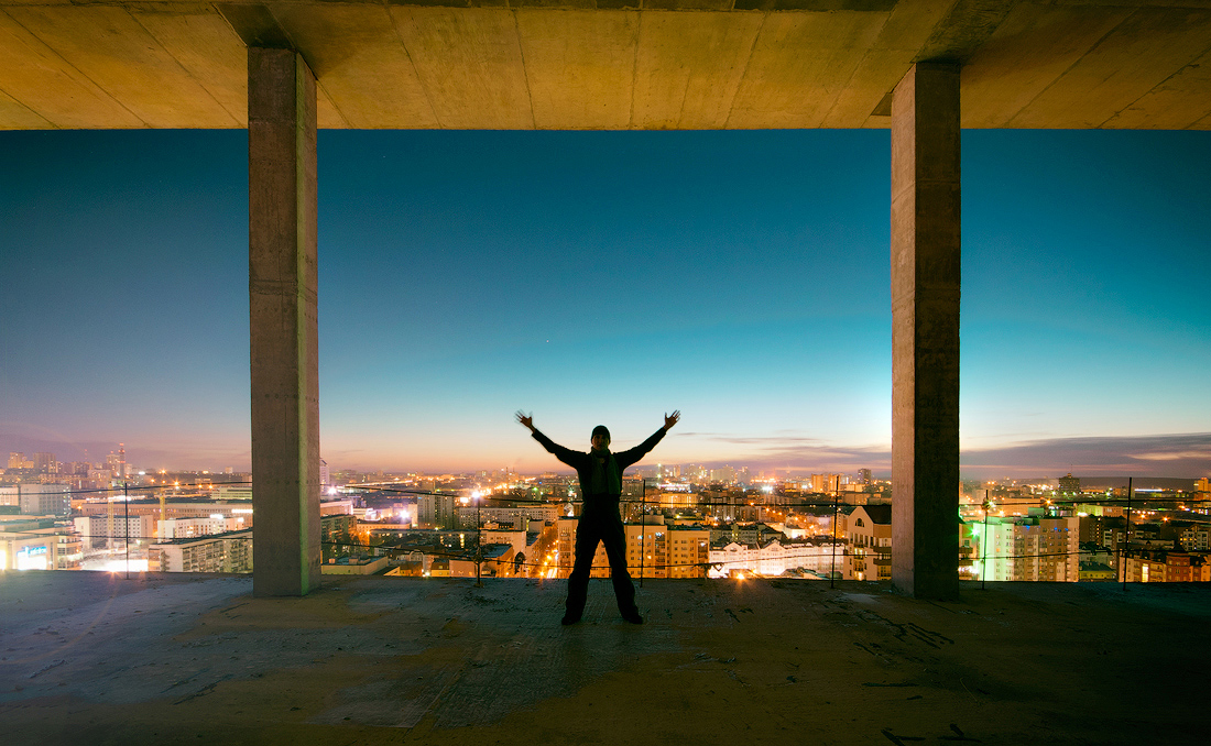 на высоте Екатеринбург photo Vitaly Karavan