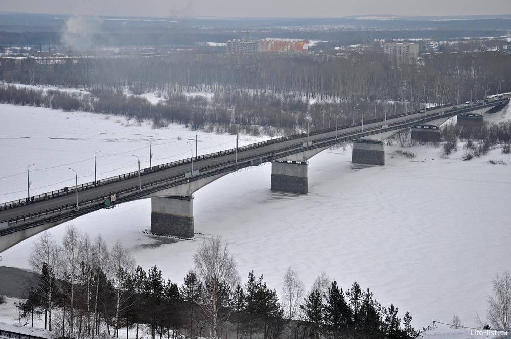 Автомобильный мост через реку Вятка