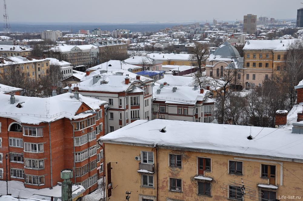 Фотографии Кирова с высоты