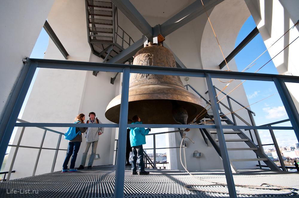 Самый большой колокол в Екатеринбурге Большой Златоуст екб