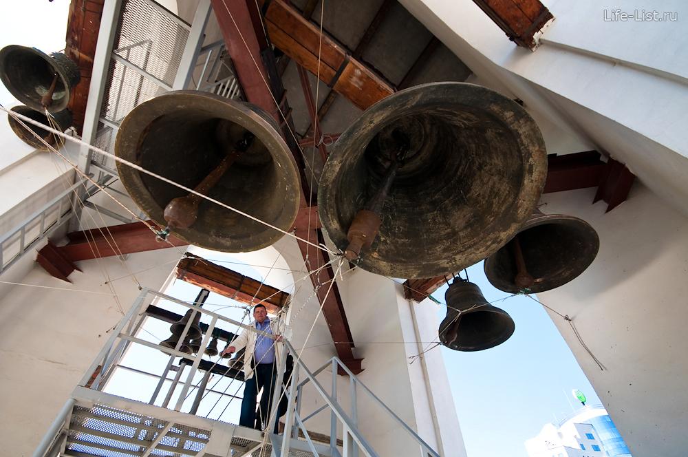 колокольня в Екатеринбурге