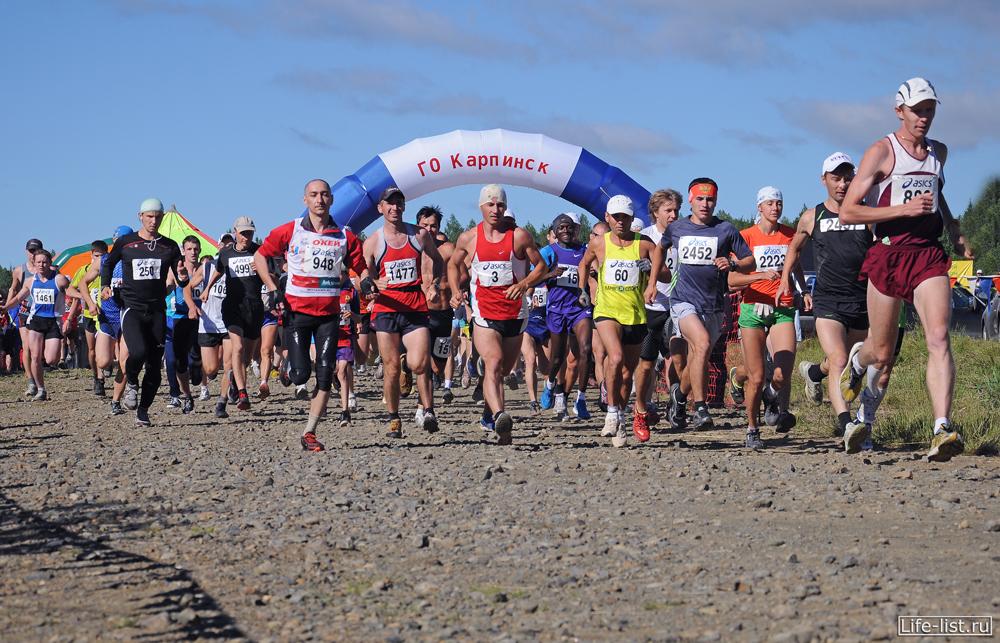 Горный марафон Конжак 2012
