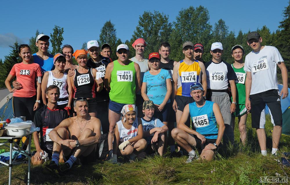 Команда марафонцев Конжак 2012