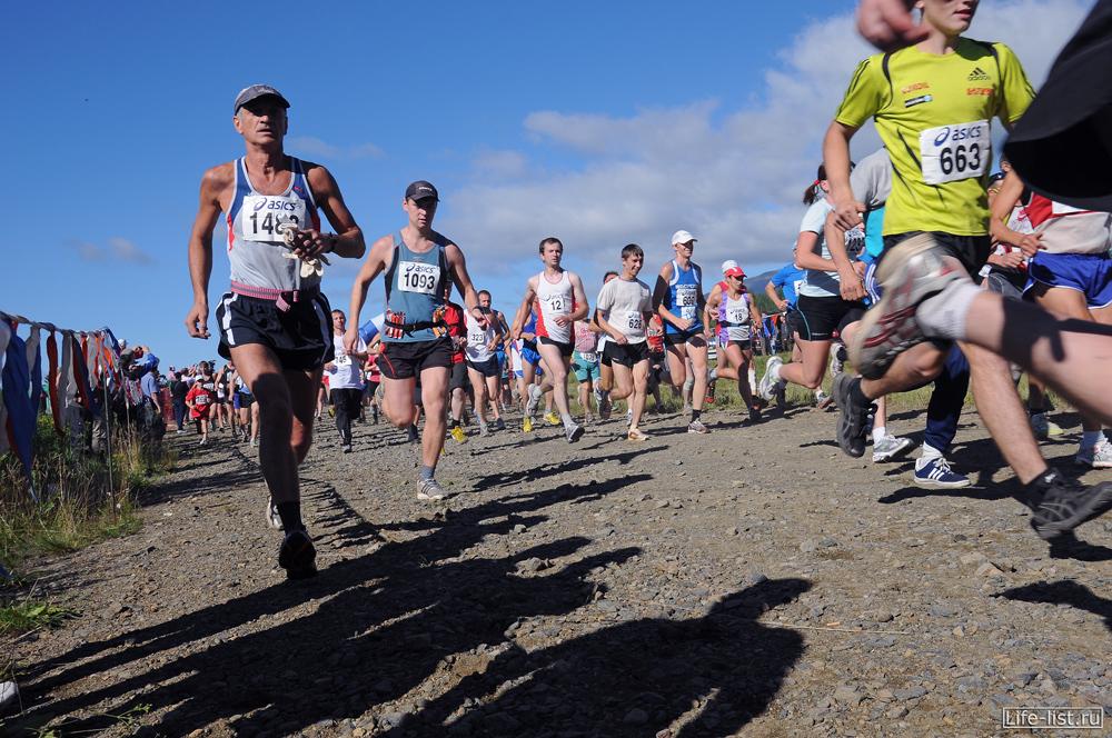 стартовали марафонцы конжак 2012