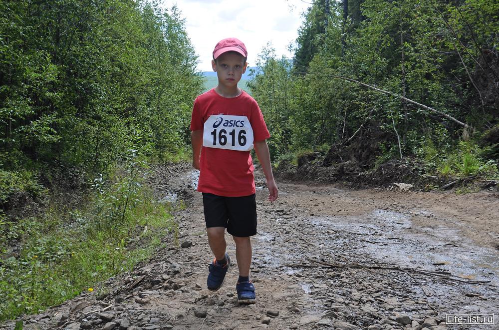 Маленький участник марафона Конжак 2012