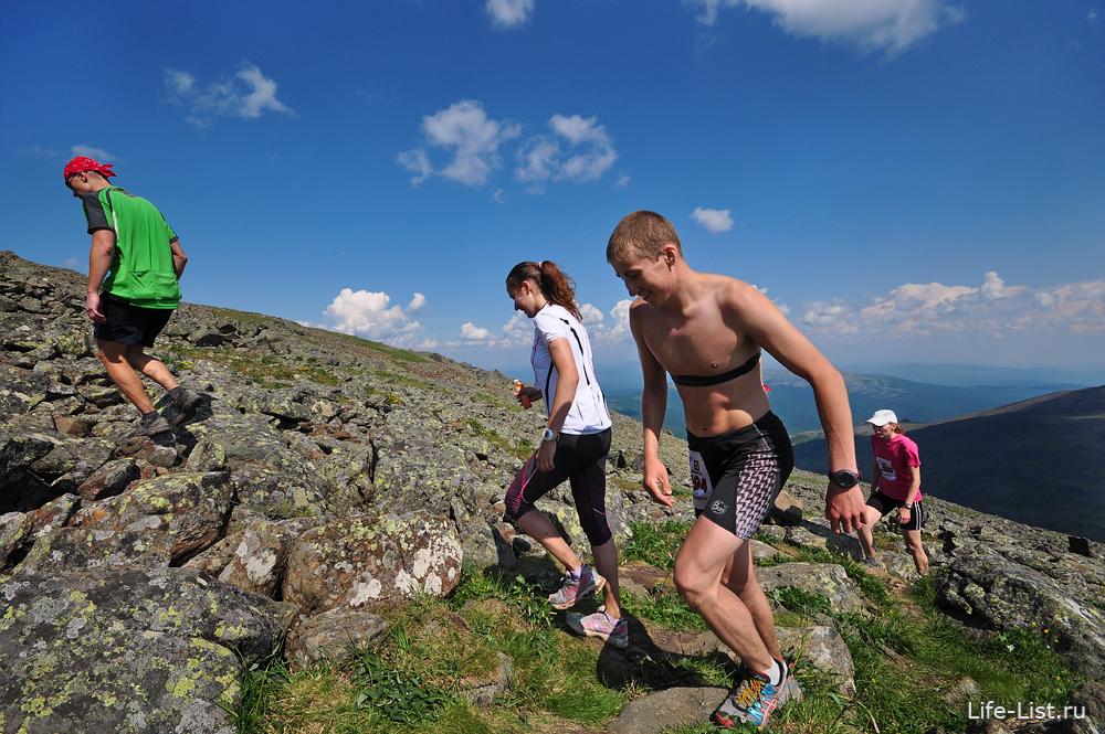 ежегодный горный марафон на конжаке 2013