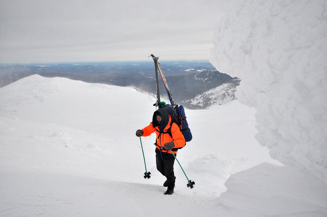 Зимний лыжный поход на Конжак Северный Урал фото турист