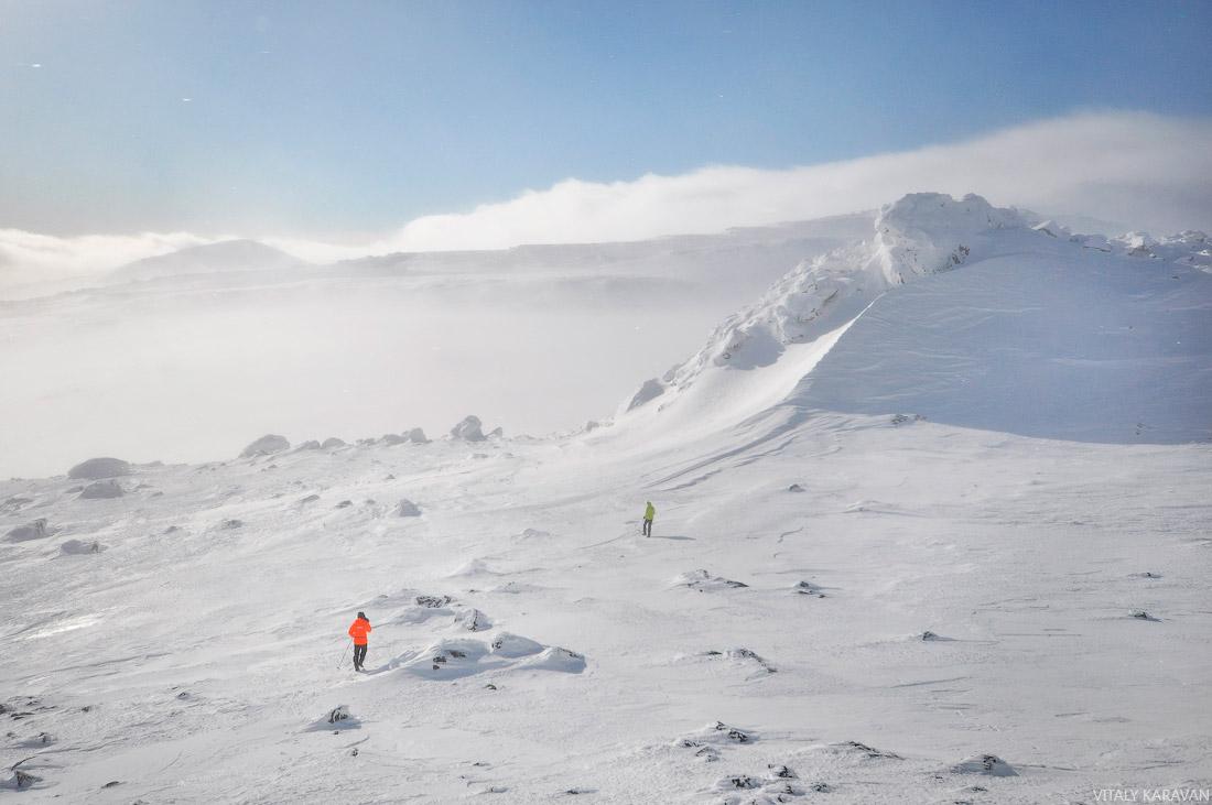 Вид с горы Южный Иов