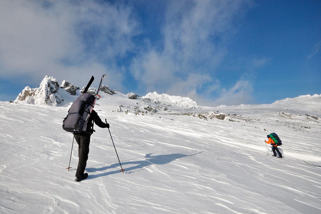 Серебрянский камень лыжный поход фото
