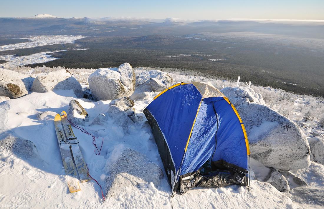 Зимний поход на Косьвинский камень с ночевкой на горе