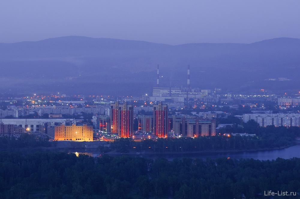 фотографии Красноярска с высоты правы берег