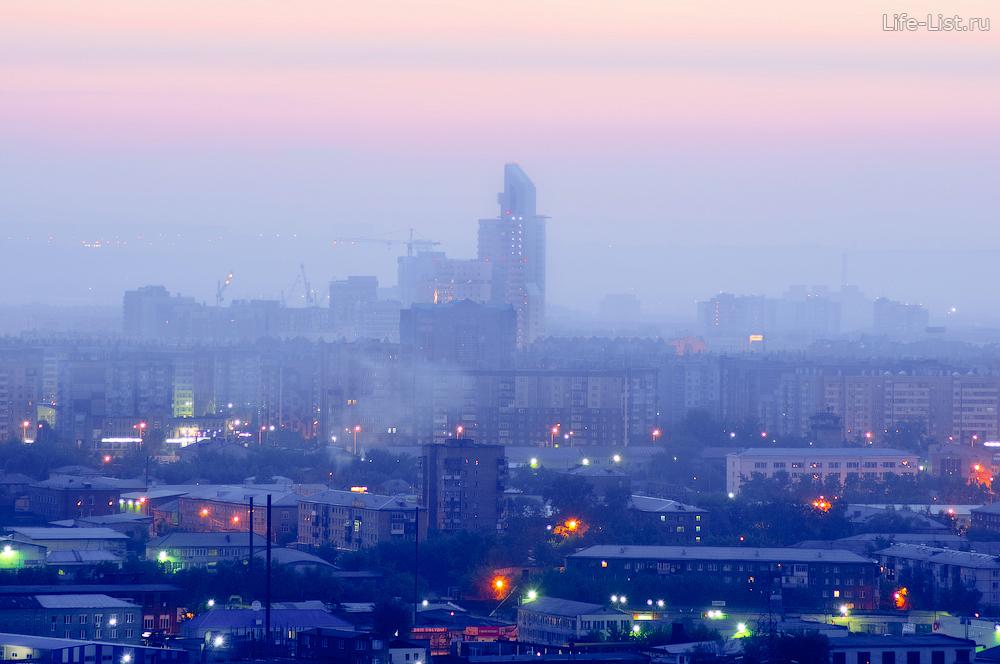 деловой центр Первая башня в Красноярске