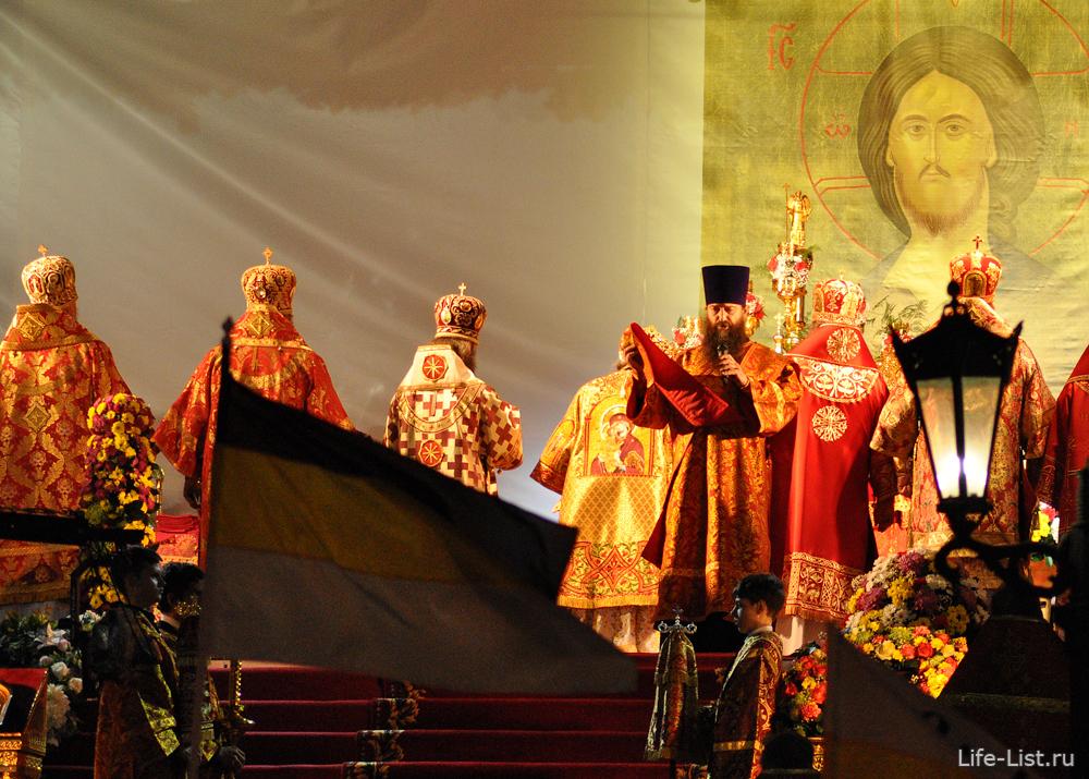 Божественная литургия в Храме на Крови в Екатеринбурге фото Виталий Караван