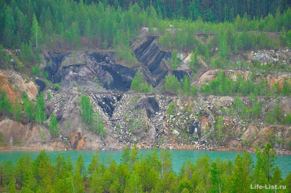 липовский карьер Средний Урал