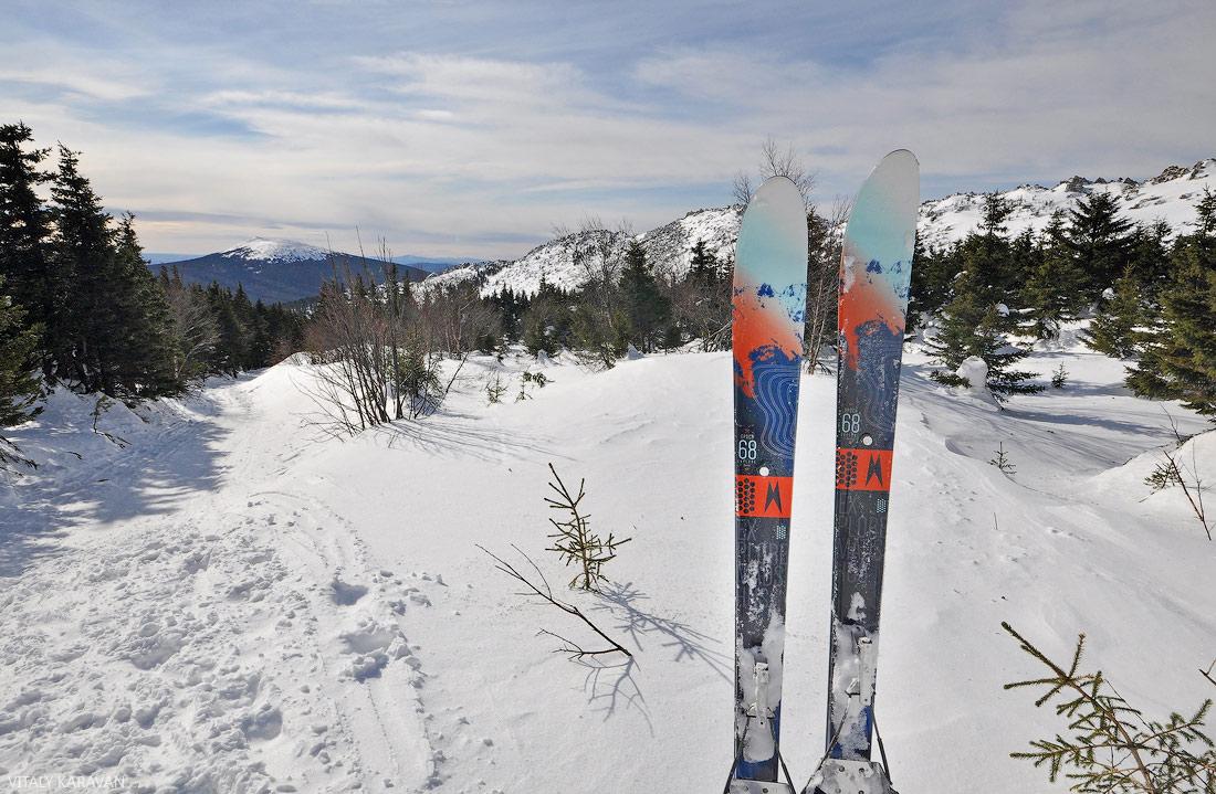 лыжный поход на Дальний Таганай Южный Урал