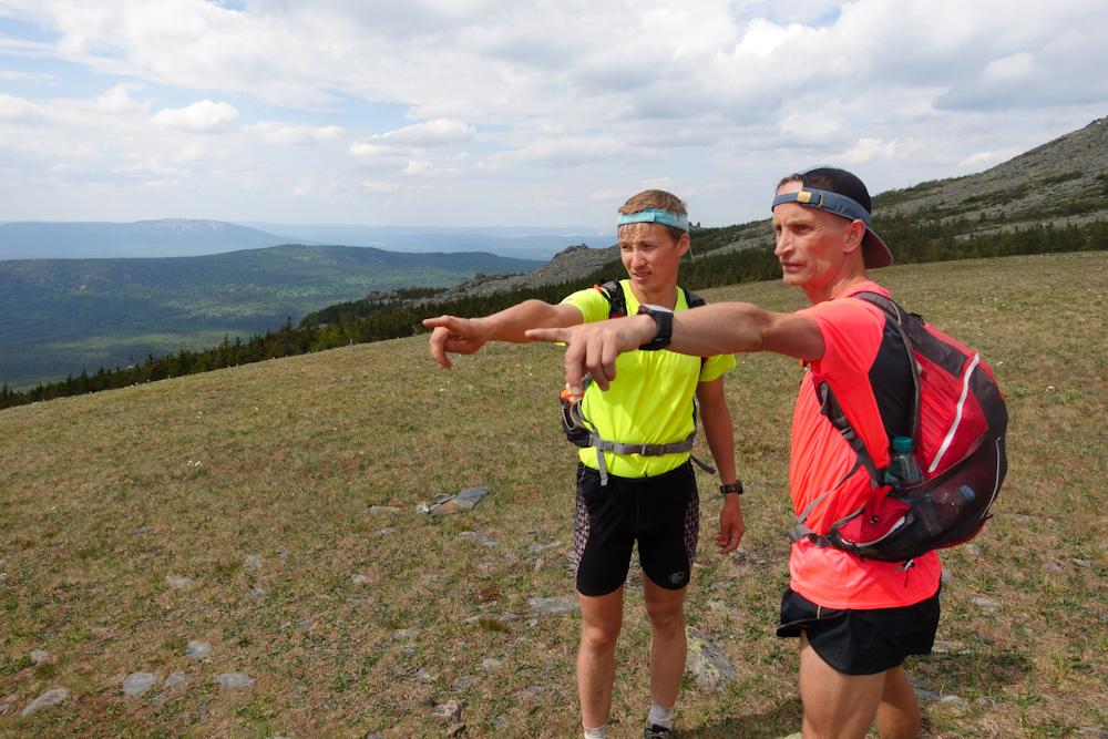 Беговая многодневка по Южному Уралу 2016 на вершине Нургуш