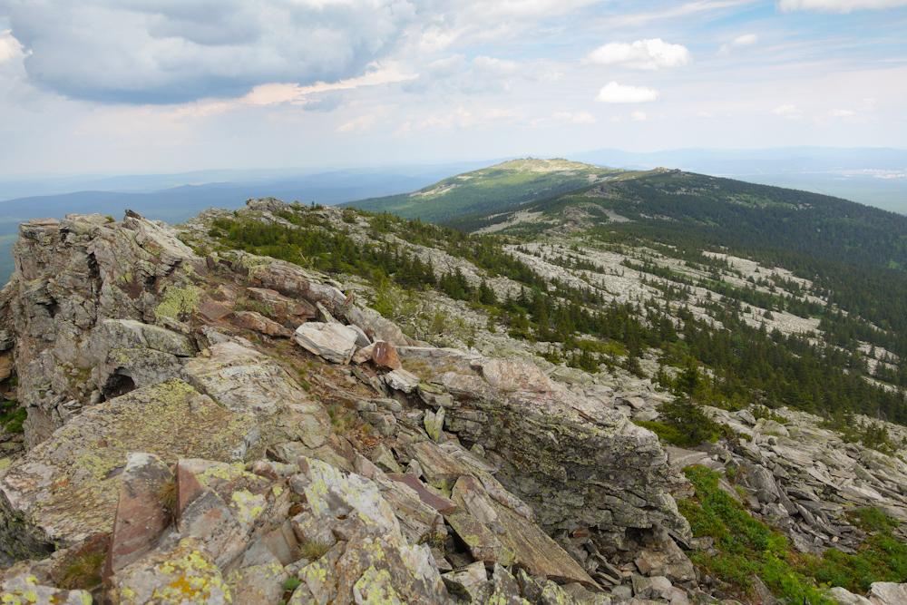 Беговая многодневка по Южному Уралу 2016 хребет Уреньга