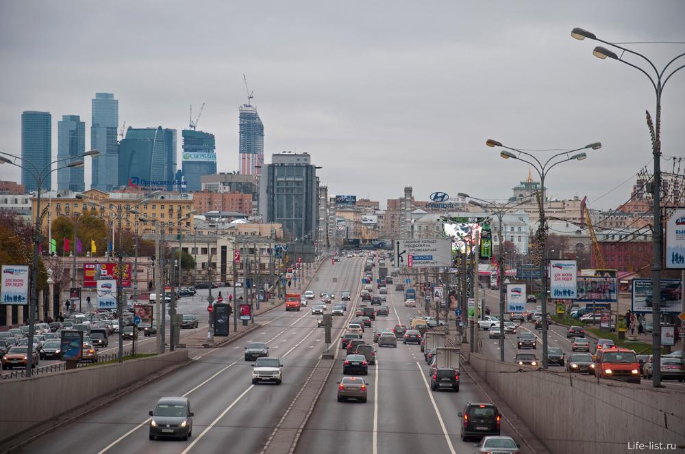Москва. Вид на Москва-Сити